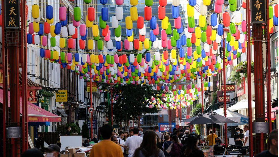 Chinatown London September 2020
