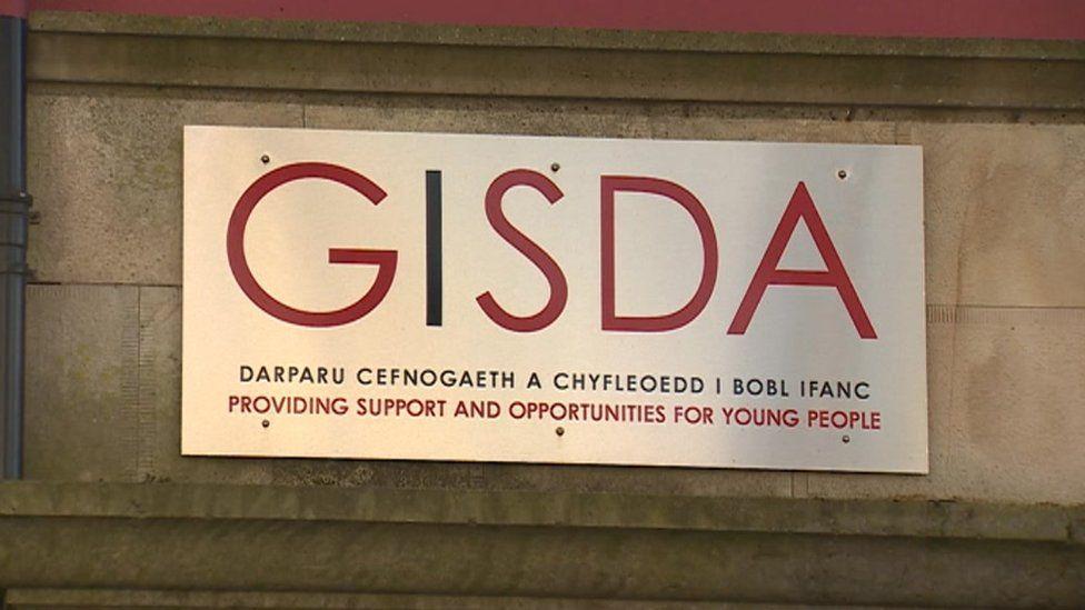 A Gisda sign