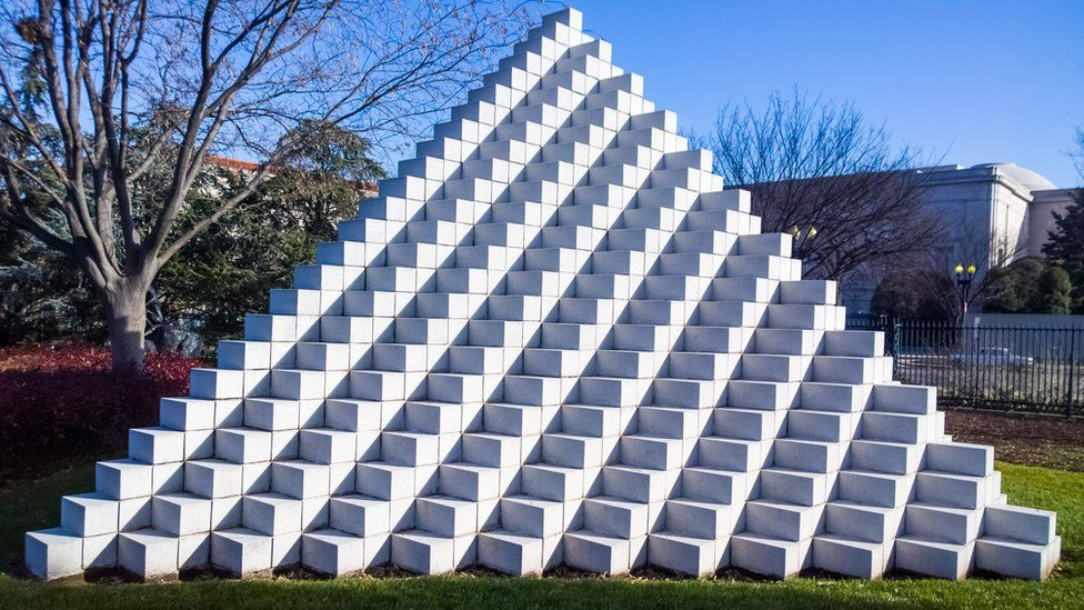 Pyramid at the Smithsonian National Gallery of Art