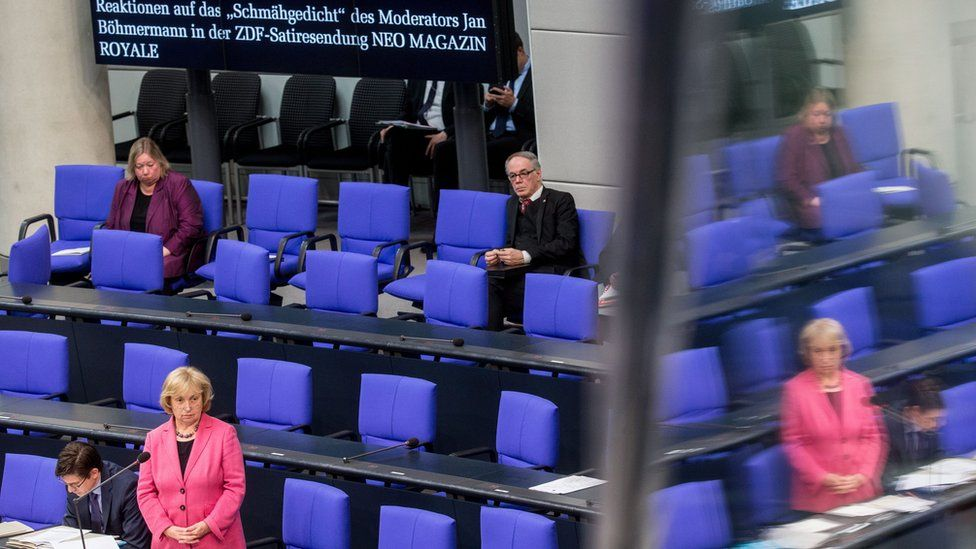 Question time in German Bundestag
