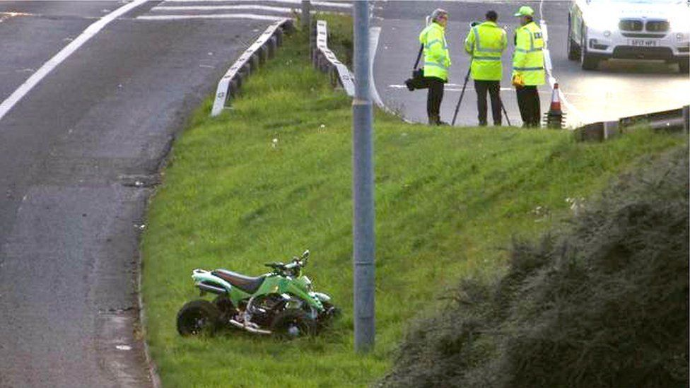 quad bike accident
