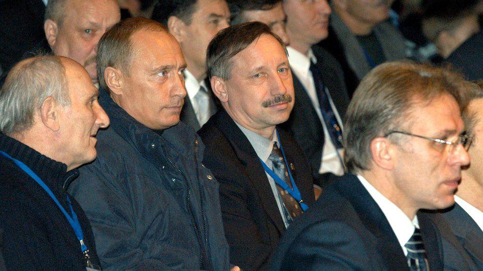 Путин, Беглов, Рахлин