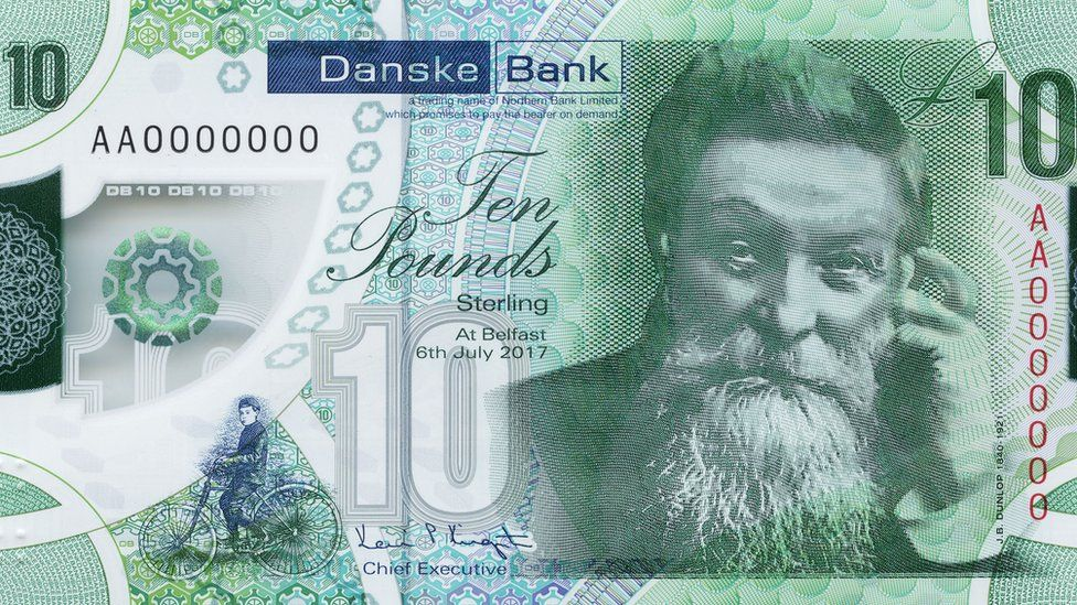 Danske bank polymer note