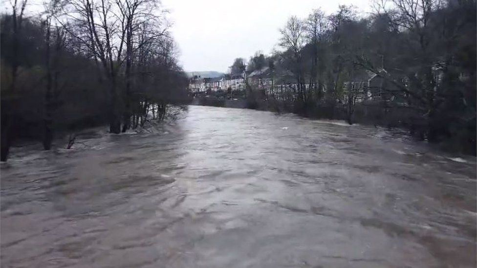 Drone footage in Pontypridd
