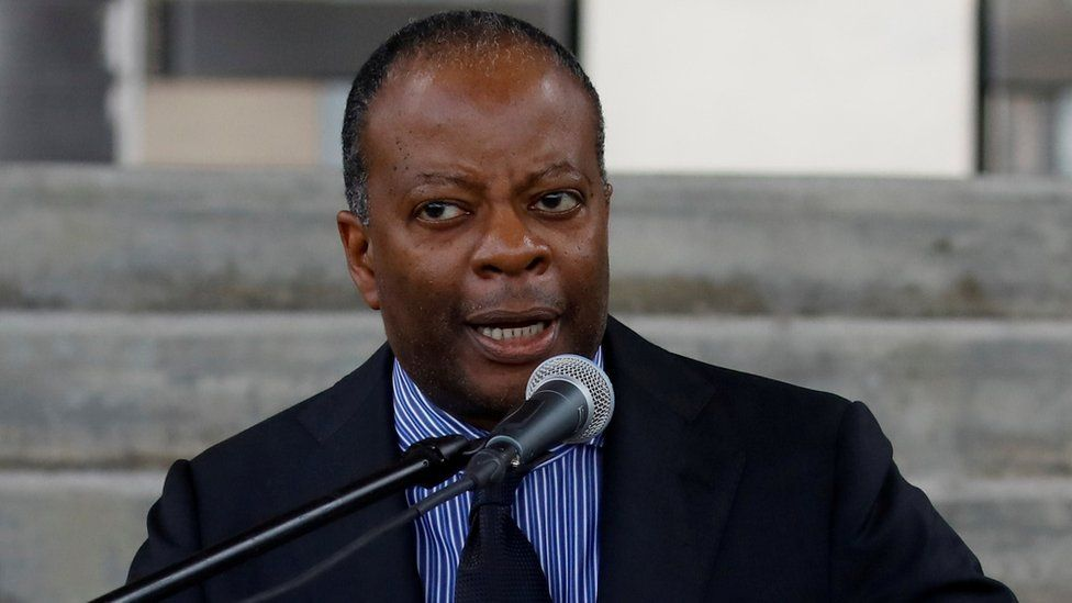 Todd Robinson, US charge d'affaires for Venezuela