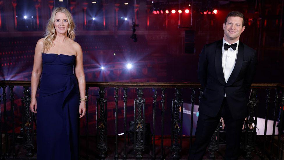 Bafta hosts Edith Bowman and Dermot O'Leary