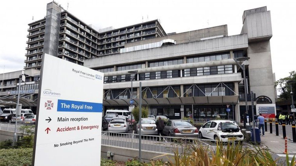 The Royal Free Hospital in London