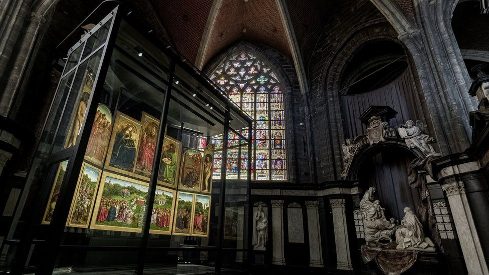 Ghent Altarpiece in St Bavo's Cathedral