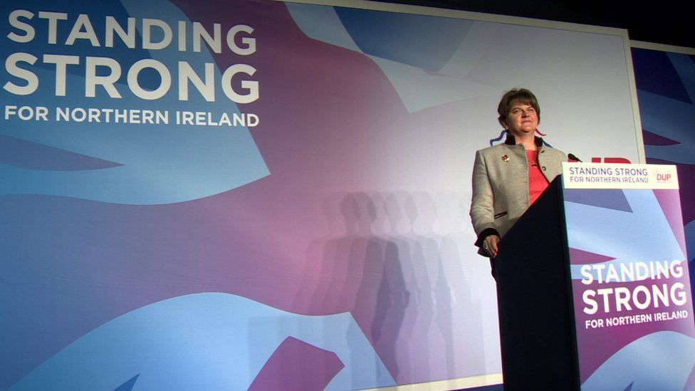 Arlene Foster spoke to BBC News NI on the eve of her party conference