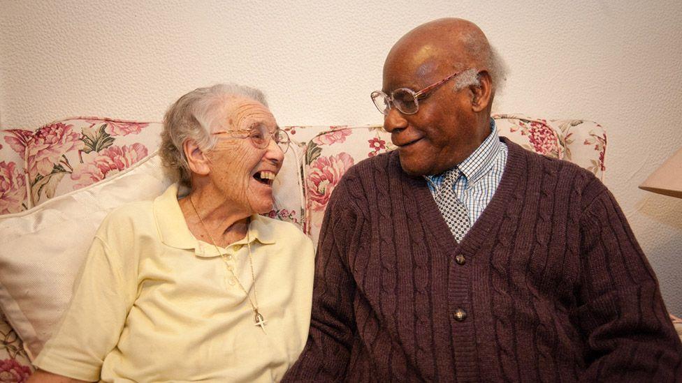Trudy Menard and Barclay Patoir