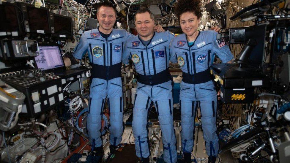 Coronavirus: los astronautas que acaban de regresar a una Tierra ...