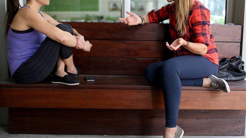 College Mädchen Yoga-Hosen