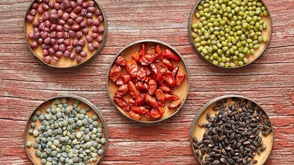 豆类食品是人们吃得不多的健康食品。