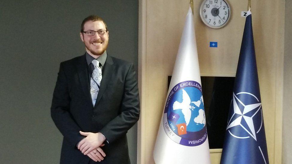 David Mair at the Nato summit