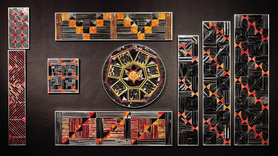 Monir Shahroudy Farmanfarmaian, Installation