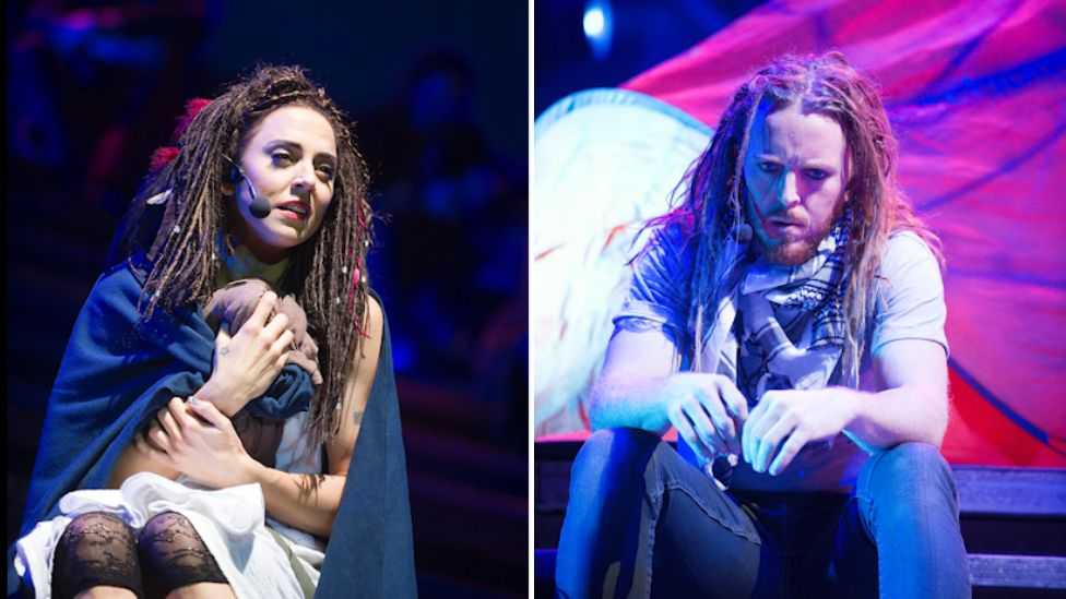 Mel C acted the role of Mary Magdalane and Tim Minchin played Judas in Jesus Christ Superstar