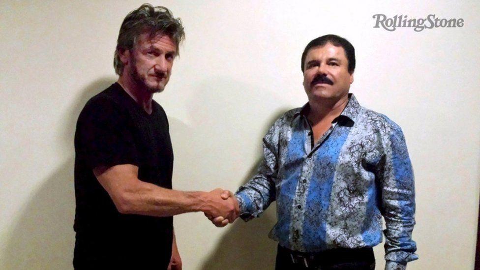 Actor Sean Penn meets El Chapo