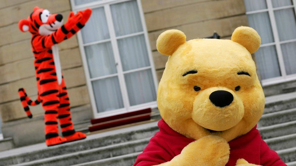 Tigger and Winnie the Pooh
