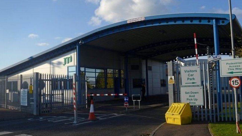 JTI tobacco factory in Ballymena