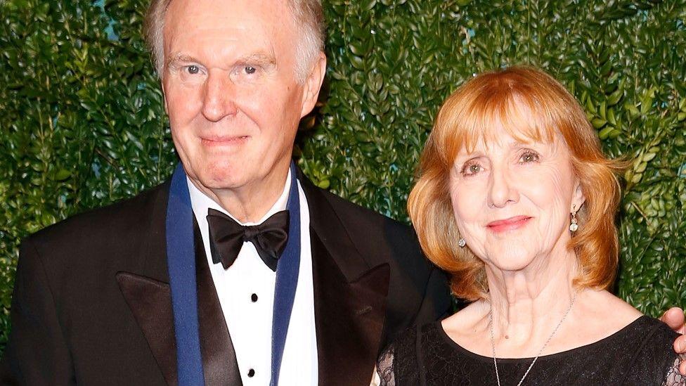 Tim Pigot-Smith and Pamela Miles