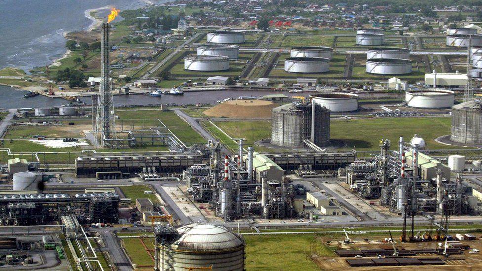 Nigeria oil field