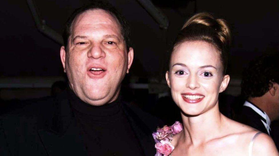 Harvey Weinstein and Heather Graham