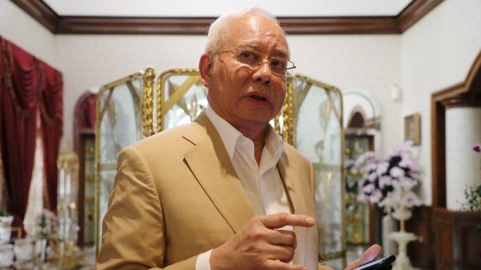 Ex Malaysia PM Najib Razak