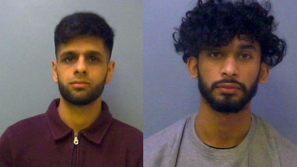 Waseem Ahmed and Hodaif Nadeem