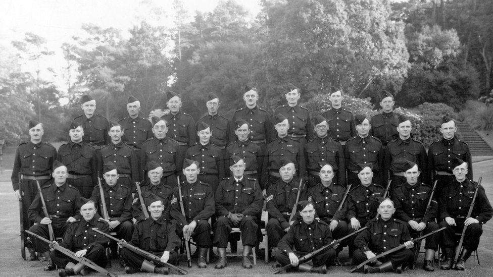 The Home Guard at Bangor Castle