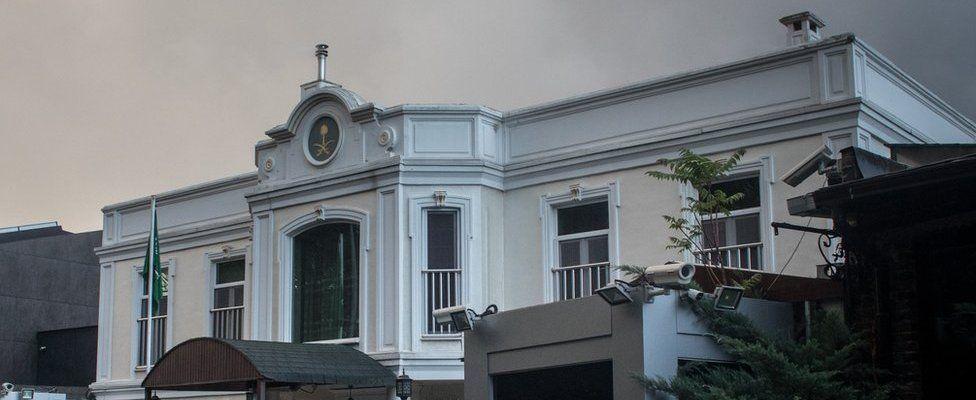 Saudi Arabia's Consul-General's residence in Istanbul