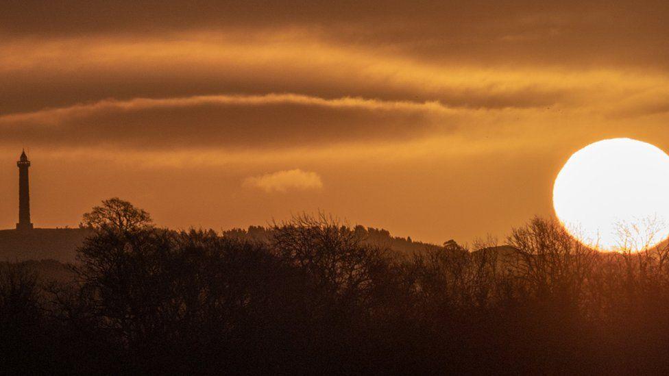 Sunrise in Jedburgh