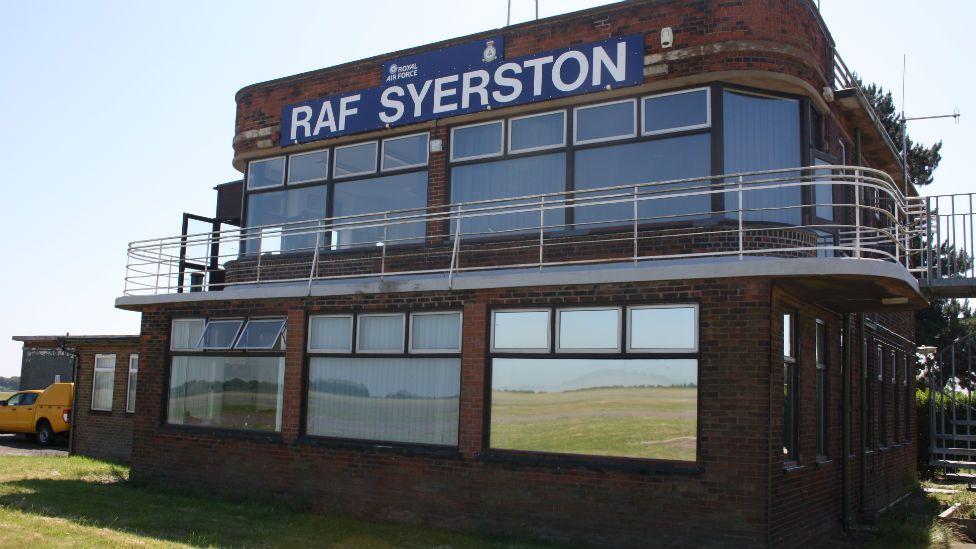 RAF Syerston in 2018