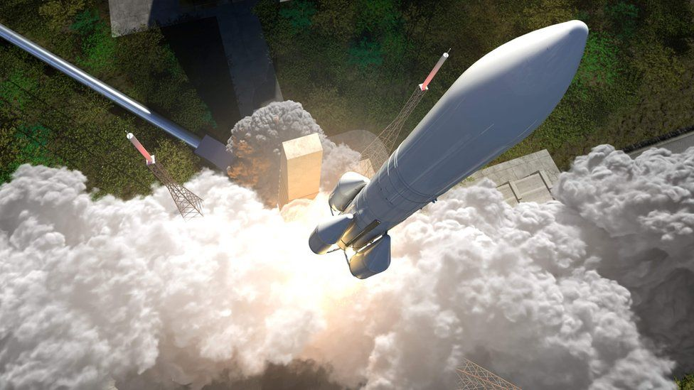 Artwork: The Ariane 6 should launch first in 2020