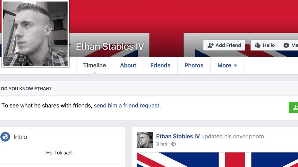 Ethan Stables Facebook account