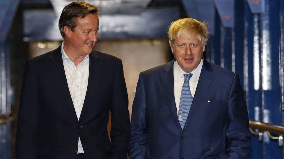 David Cameron: Johnson and Gove behaved 'appallingly'
