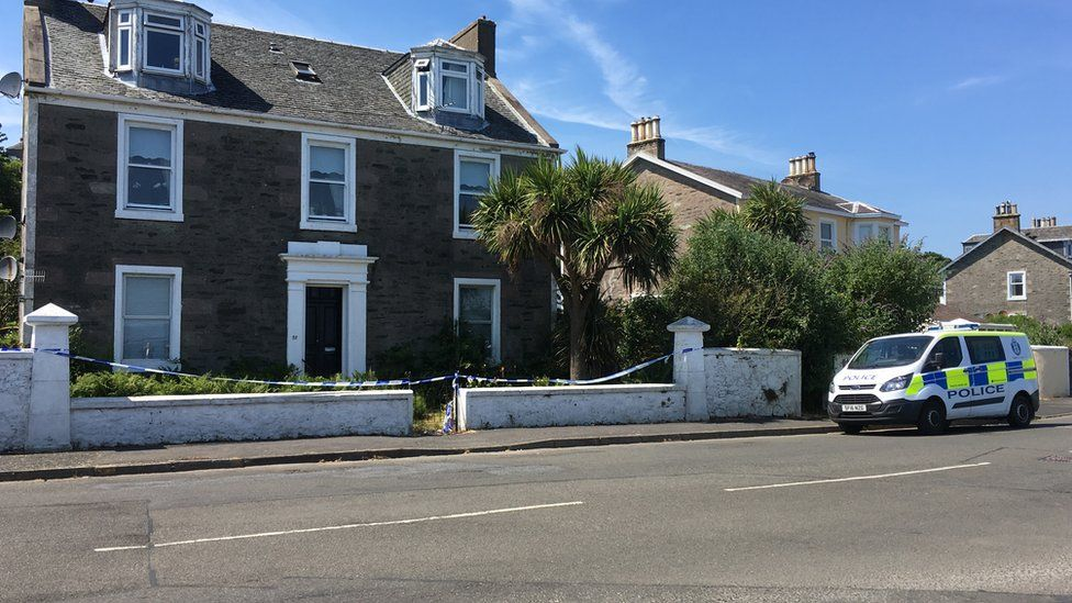 Houses sealed off in Ardbeg