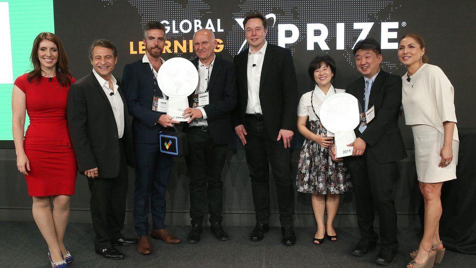 Winners with Peter Diamandis and Elon Musk
