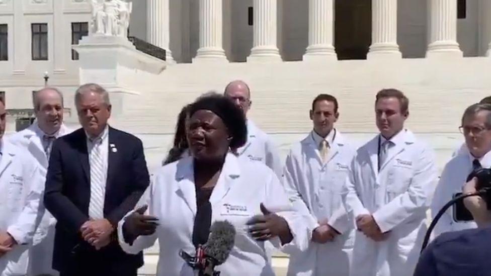 The video of America's Frontline Doctors