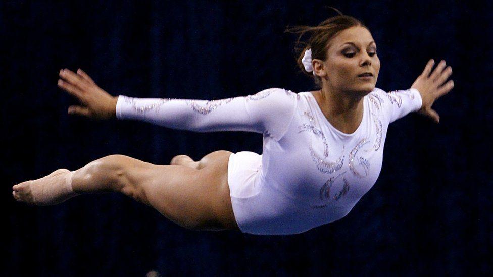 Olympic gymnast Jamie Dantzscher (2004 file pic)