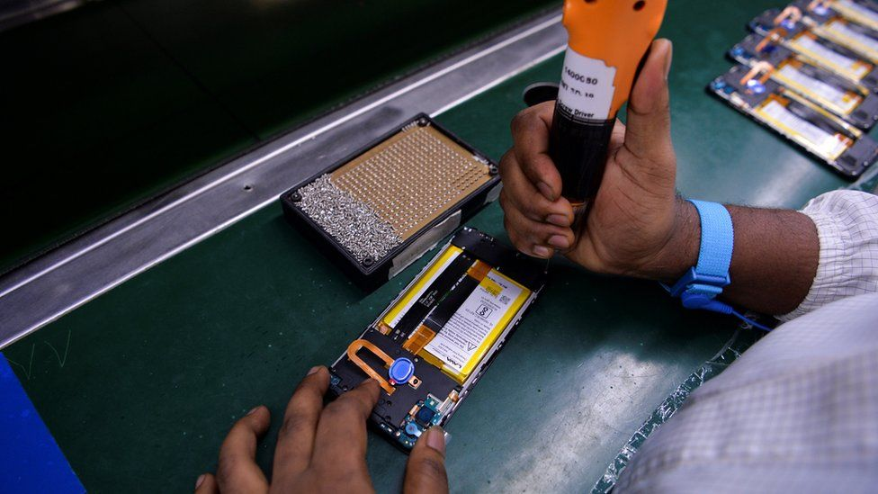 Mobile phone manufacturing