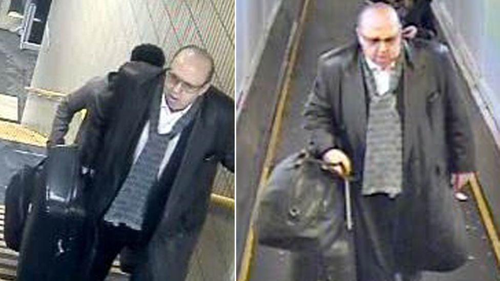 CCTV images of Ion Craciunescu