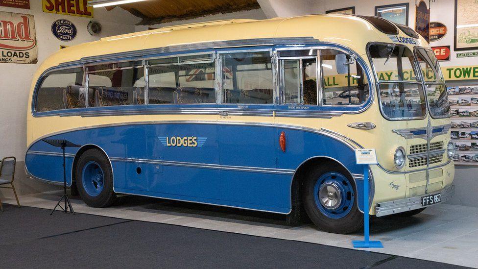 A 1956 OB Bedford Duple Vista