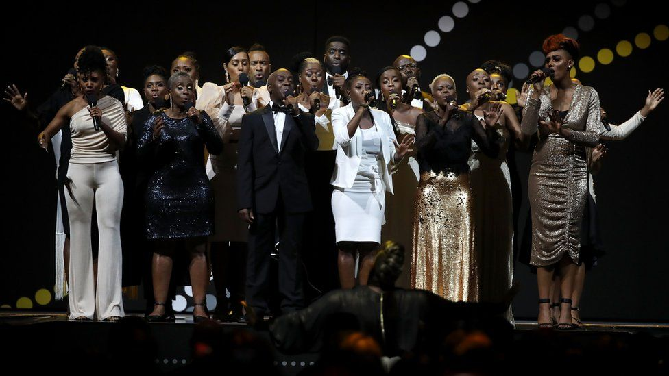 The Kingdom Choir at the Invictus Games closing ceremony 2018