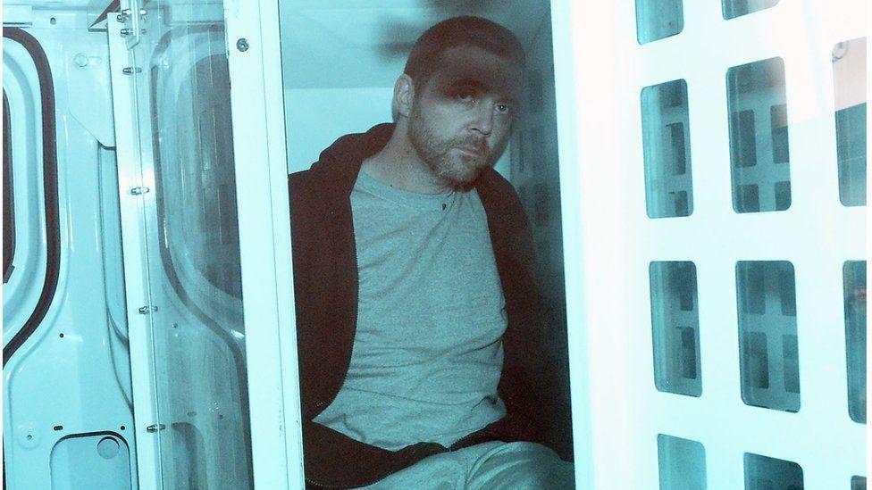 Stephen Henry appears in court in Lisburn