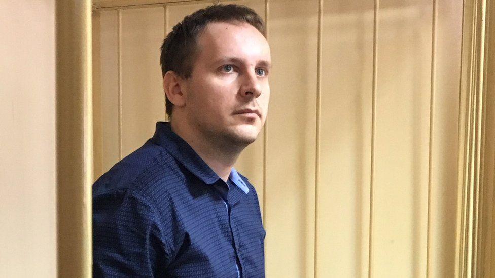 Sergei Efremov in court