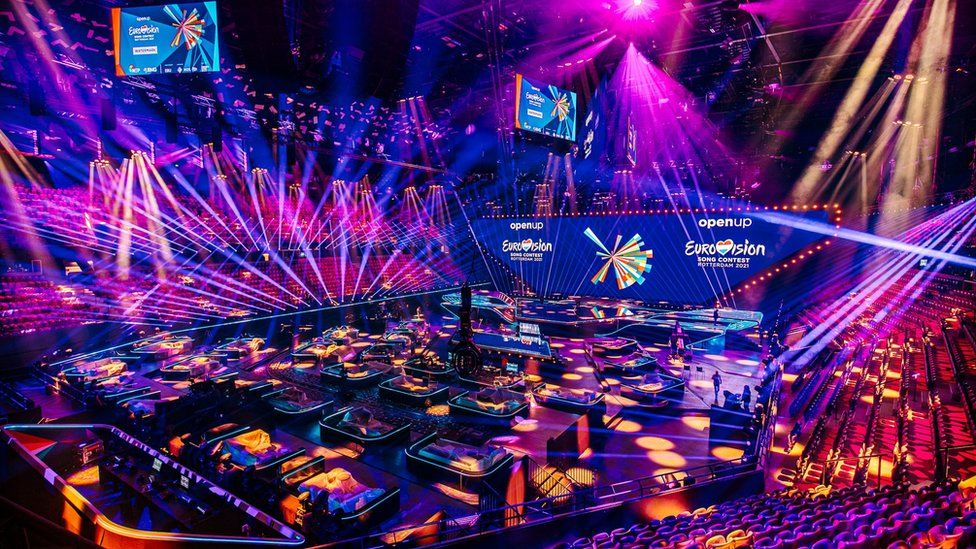 Eurovision 2021: How this year's acts are aiming for a Covid-safe contest - BBC News