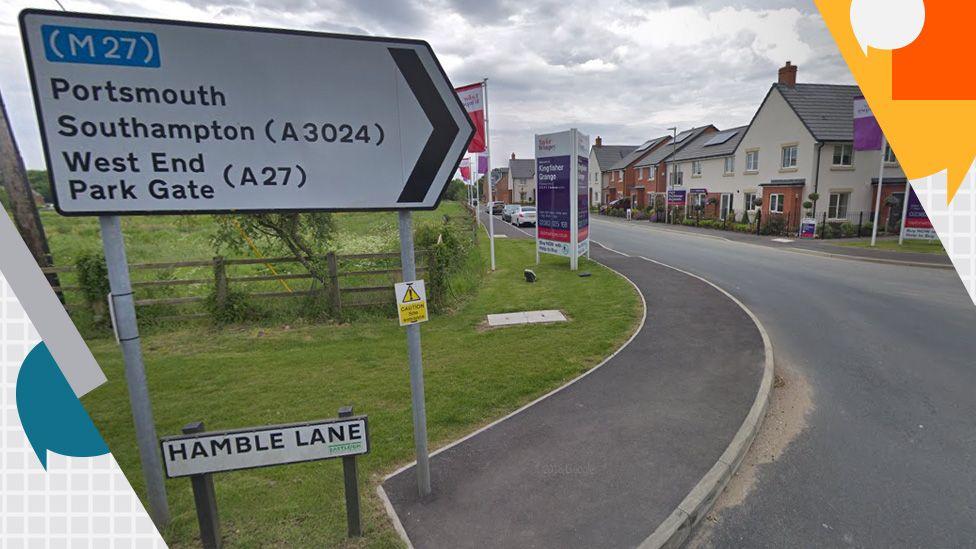 Hamble Lane in Eastleigh