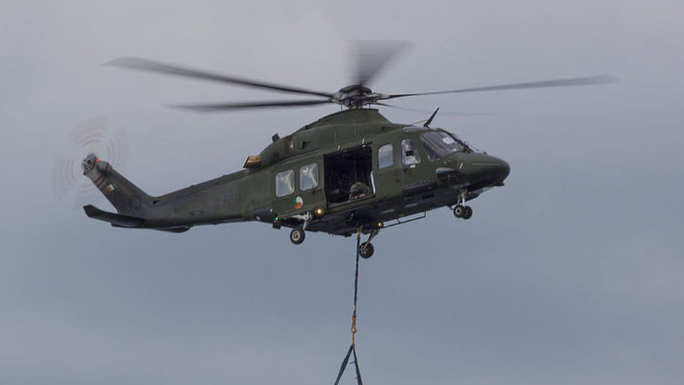 An Irish Air Corps AW139 helicopter - file picture