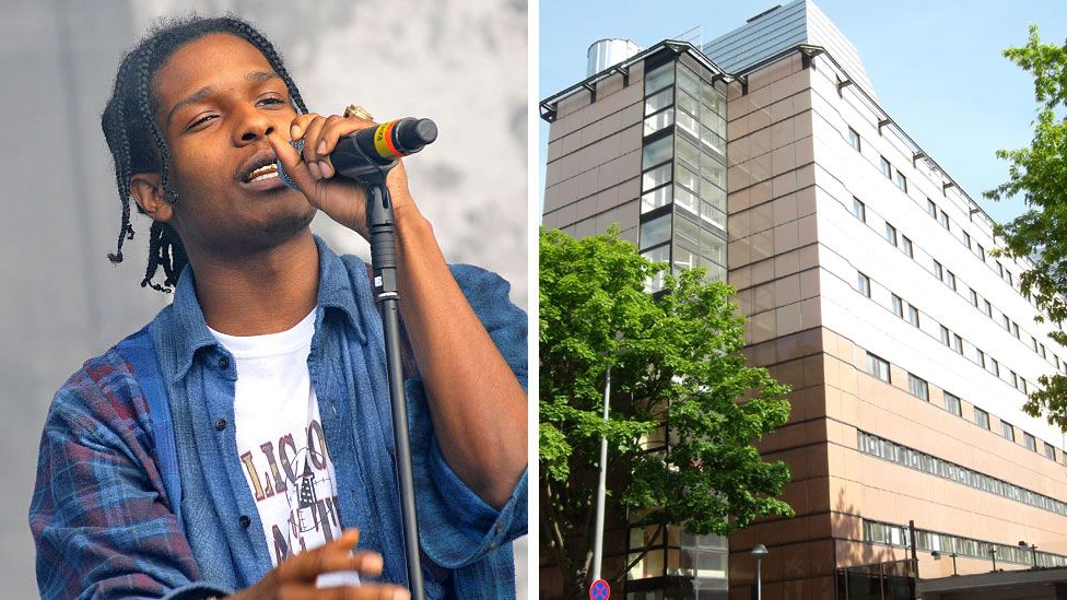 ASAP Rocky and the Kronoberg prison he's being held in