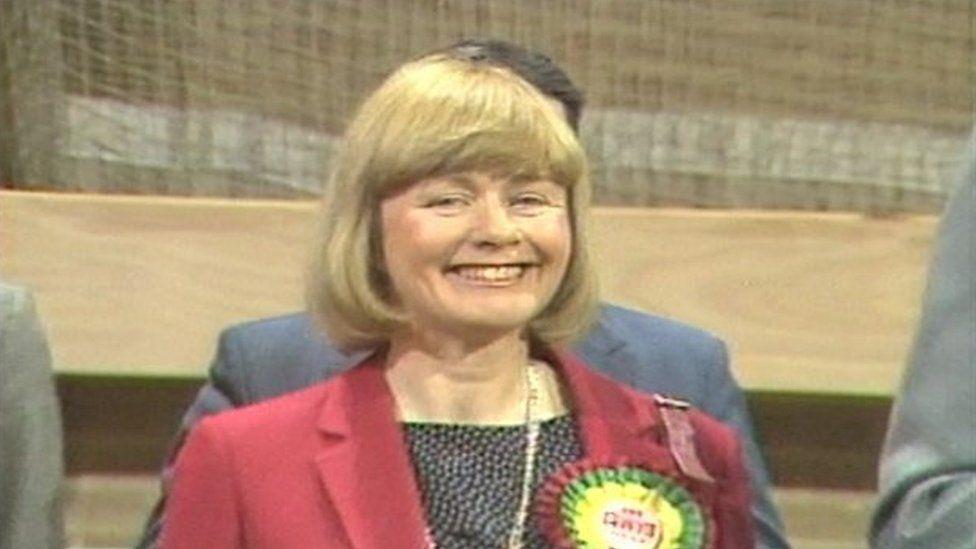 Ann Clwyd yn 1984